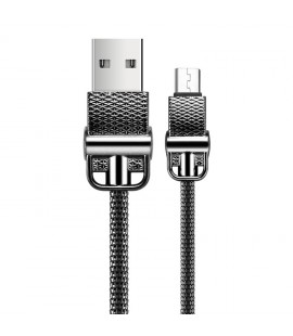 JOYROOM S-M336 1m USB to Micro USB Metal Braid Data Cable