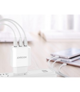 Joyroom HKL-USB30 Travel Charger with 3 USB Ports