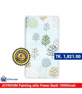 JOYROOM PT-D01 Painting attic series power bank 10000mah