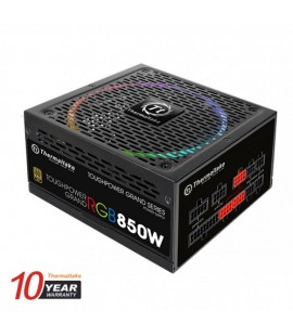 Thermaltake Toughpower Grand Fully Modular 850W ATX 2.4 & EPS 2.92 A-PFC 14cm RGB Fan EU 80Plus Gold
