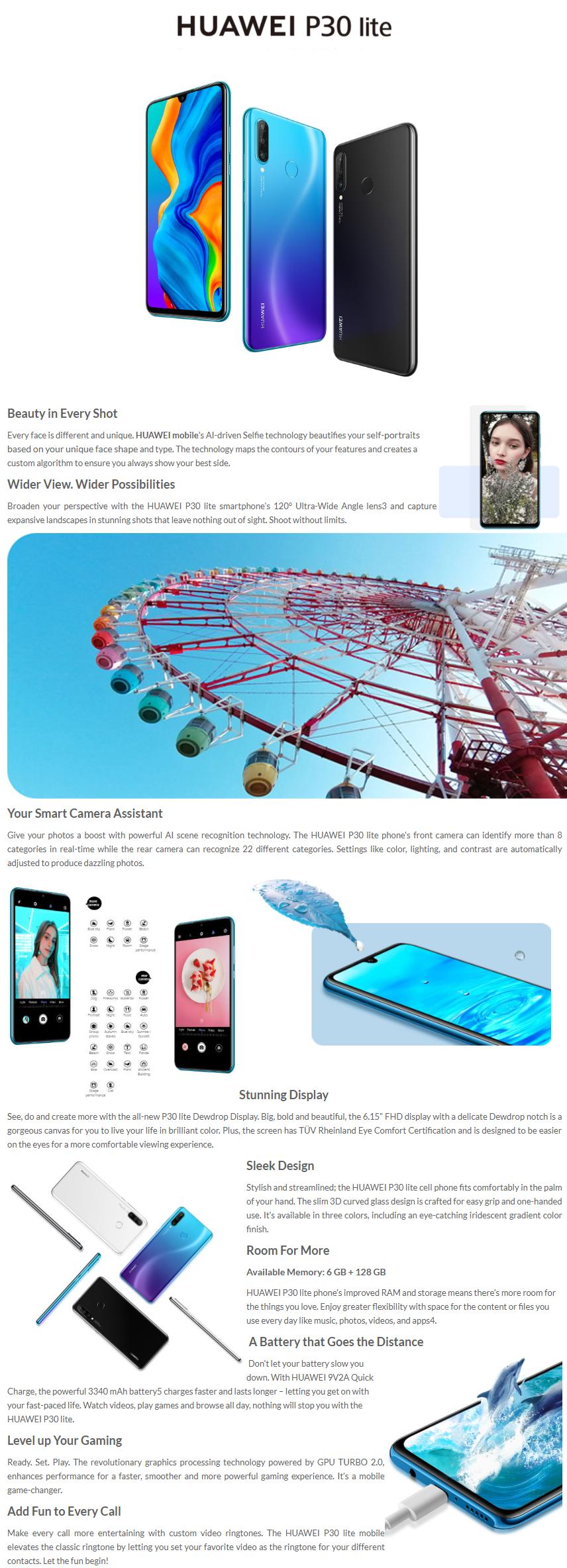 Huawei p30 lite price in bangladesh