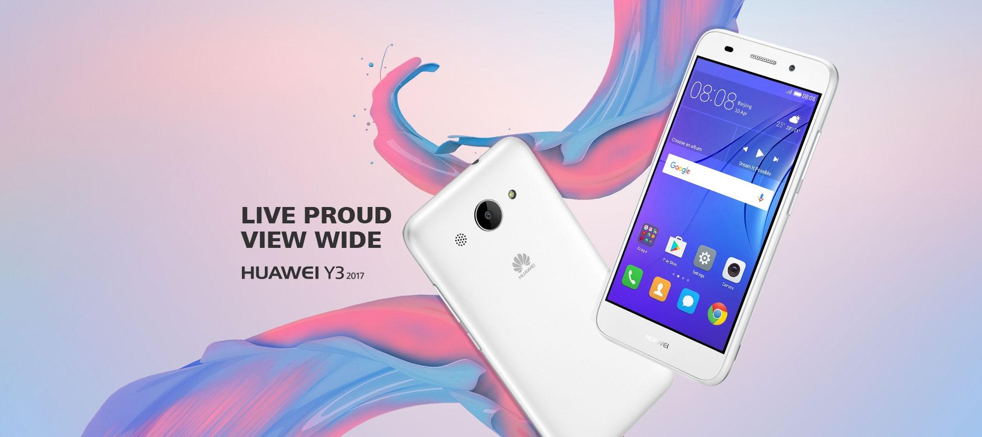 Huawei Y3 2017 in Bangladesh